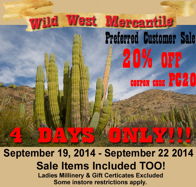 20% Off Sale 4 Days Only