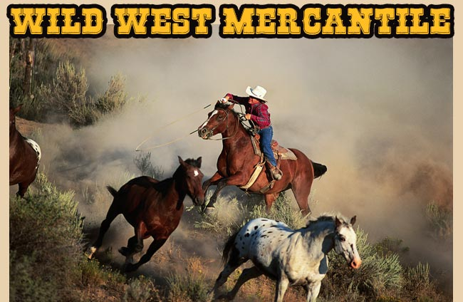 The name Wild West Mercantile has become synonymous with Old West style clothing and accessories. Founded in February of '94 in the heart of Phoenix, Wild West Mercantile has grown to be the largest retail store and online catalog in operation in the world. Meet the Manager3/5(12).