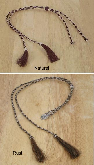 Horsehair~STAMPEDE STRING~Western//Cowboy//Hat//Cotter Pin  02962