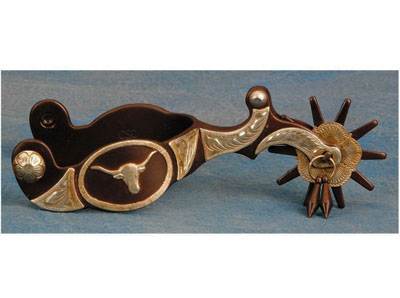 Colorado Saddlery The Chisolm Trail Spurs | Wild West Mercantile