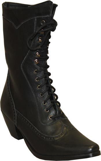 Victorian Lace Up Boot