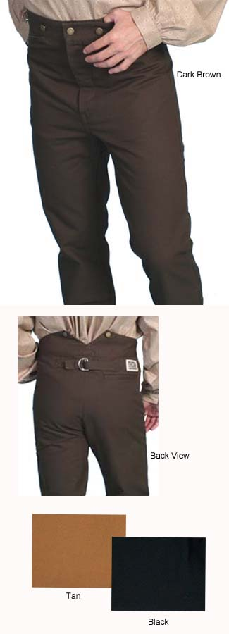 Frontier Trousers (BIG) (3 Colors)
