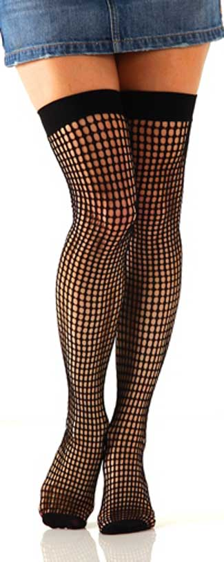 Havana Fish Net Thigh Highs