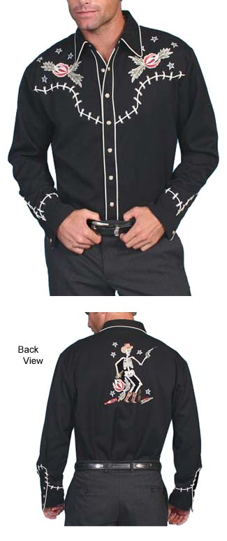 Scully Westerns Reckless Shirt Wild West Mercantile