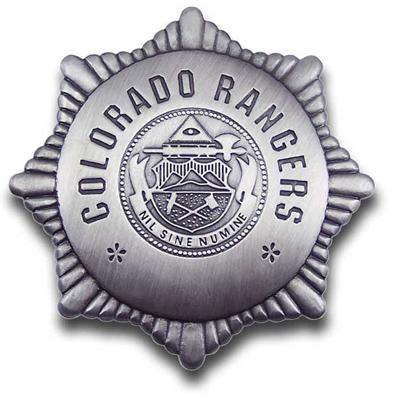Colorado Rangers Badge   Wild West Mercantile