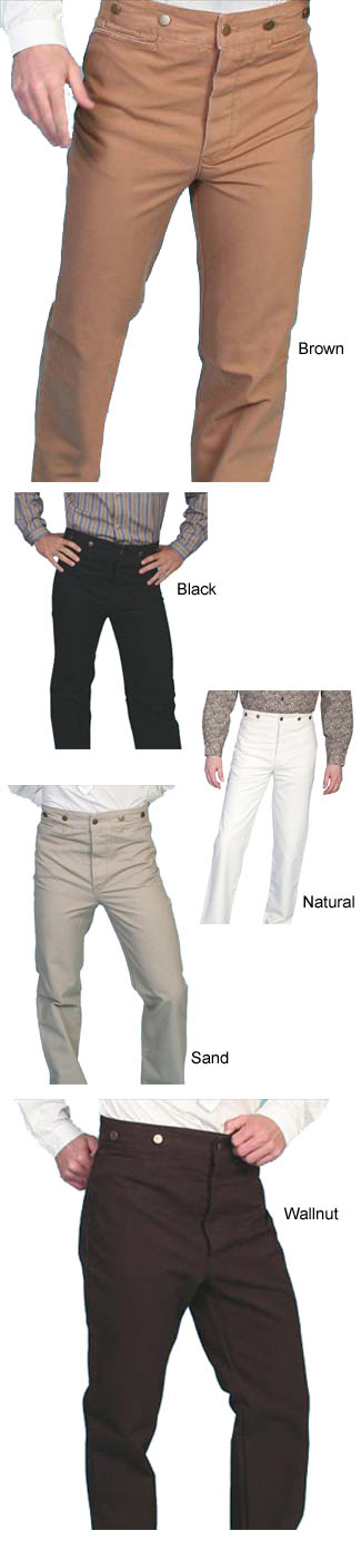 Frontier Pants (4 Colors)