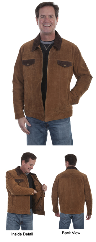 Suede Concealed Carry Jacket