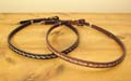 [ Leather/Horsehair Buckle Hat Band]
