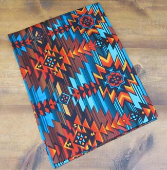 [FashionWest Aztec Silk Scarf]