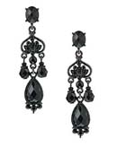 [1928 Jewelry® Briolet Triple Drop Earring]