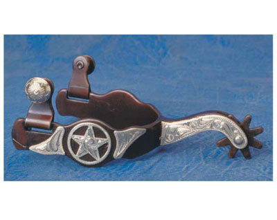 [Colorado Saddlery The Desert Star Spurs]