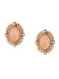 [1928 Jewelry® Oval Button Earrings]