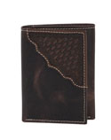 [Scully Western Lifestyle  Men's Ranger Billfold - Tri-fold]
