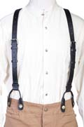 [Wah Maker Leather Suspenders]
