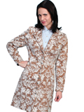 [Wah Maker Floral Tapestry Coat]