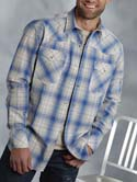 [Roper Apparel Men's Long Sleeve Western Shirt]