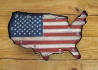 [Western Moments USA Wall Decor]