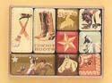 [Western Moments Rodeo Magnet Set]