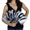 [ Marabou Multi Color Fan]