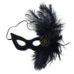 [ Victorian Feather Mask]