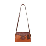 [Scully West Leather Cross Shoulder Bag]