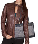 [Scully Western Lifestyle  Leather Handbag]
