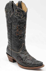 [Corral Boots Vintage Lizard Inlay Boot]
