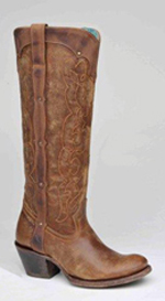 [Corral Boots Kat Natural Westport Boot]