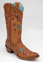 [Corral Boots Floral Embroidery Boot]