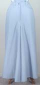[Frontier Classics Old West Chambray Riding Skirt]