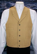 [Frontier Classics Old West Canvas Vest (Tall)]