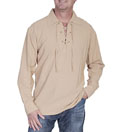 [Scully Cantina Salazar Lace Up Shirt]