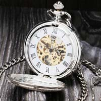 [ Double Open Pocket Watch]