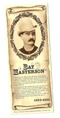 [Desert Gathering - Bat Masterson Bookmark]