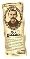 [Desert Gathering - Doc Holliday Bookmark]
