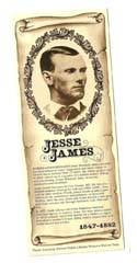 [Desert Gathering - Jesse James Bookmark]