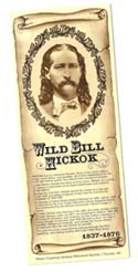 [Desert Gathering - Wild Bill Hickok Bookmark]