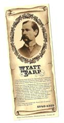 [Desert Gathering - Wyatt Earp Bookmark]