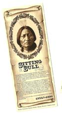 [Desert Gathering - Sitting Bull Bookmark]