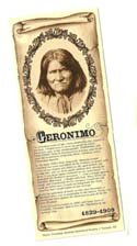 [Desert Gathering - Geronimo Bookmark]