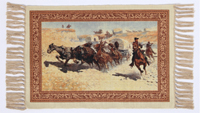 [EL Paso  Covered Wagon Placemat]