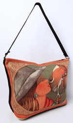 [ Cowgirl Purse - Rust]