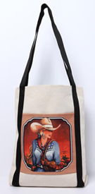 [ Cowgirl Canvas Tote]