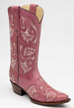 [Corral Boots Floral Full Stitch Boot]