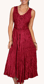 [Scully Honey Creek Lace Front Dress]