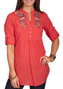 [Scully Honey Creek Ladies Tunic Blouse]