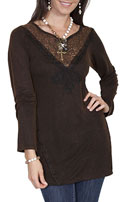 [Scully Honey Creek Lace Tunic Blouse*]