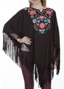 [Scully Honey Creek Ladies Poncho]