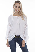 [Scully Honey Creek Long Sleeve Blouse*]