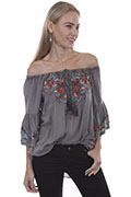 [Scully Honey Creek Embroidered Tunic*]